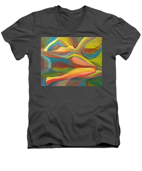 Horizon Peace Will Come Men's V-Neck T-Shirt