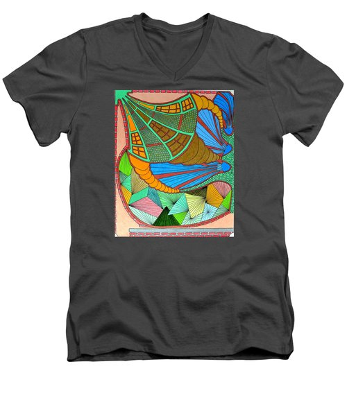 Horn Of What Men's V-Neck T-Shirt