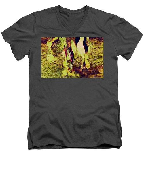 Horse Legs Men's V-Neck T-Shirt