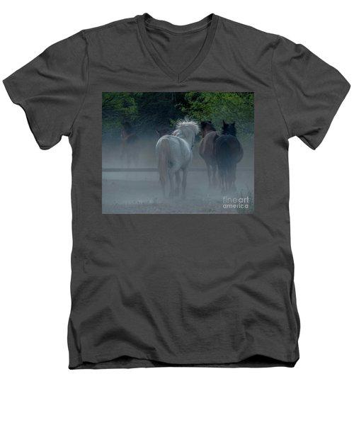Horse 8 Men's V-Neck T-Shirt
