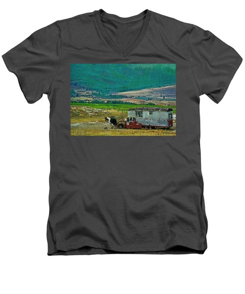 Horse Power Men's V-Neck T-Shirt