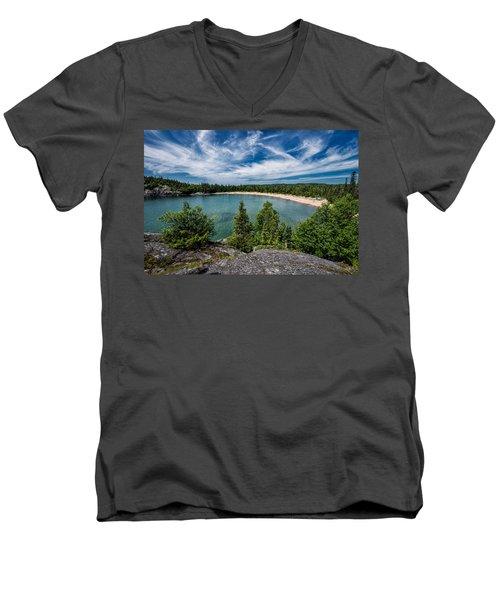 Horse Shoe Bay Men's V-Neck T-Shirt