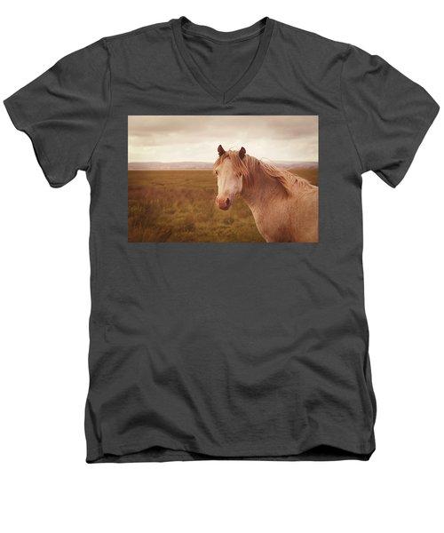 Wild Horse Men's V-Neck T-Shirt