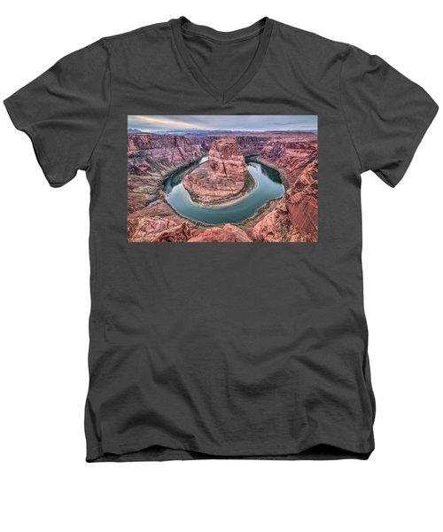 Horseshoe Bend Arizona Men's V-Neck T-Shirt