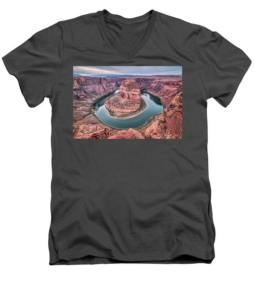 Horseshoe Bend Arizona Men's V-Neck T-Shirt