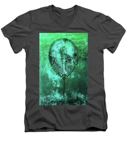 Horseshoe Crab Men's V-Neck T-Shirt