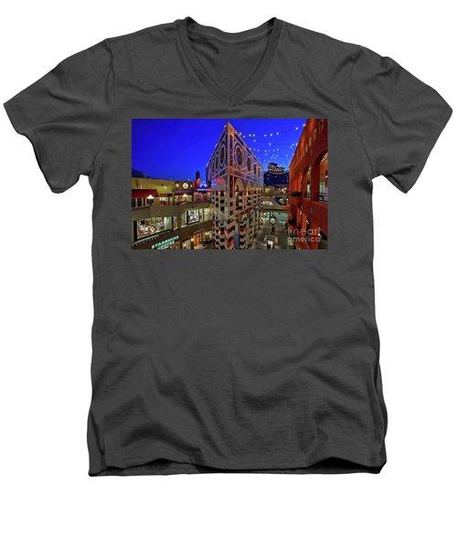 Horton Plaza Shopping Center Men's V-Neck T-Shirt