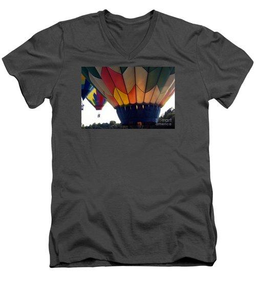 Hot Air Balloon Men's V-Neck T-Shirt
