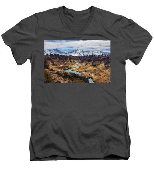 Hot Creek Men's V-Neck T-Shirt