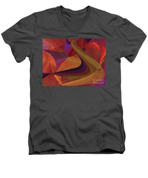 Hot Curvelicious Men's V-Neck T-Shirt