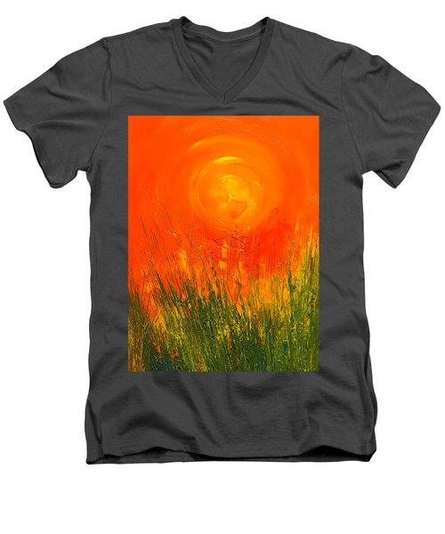 Hot Sun Men's V-Neck T-Shirt
