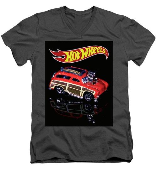 Hot Wheels Surf 'n' Turf Men's V-Neck T-Shirt