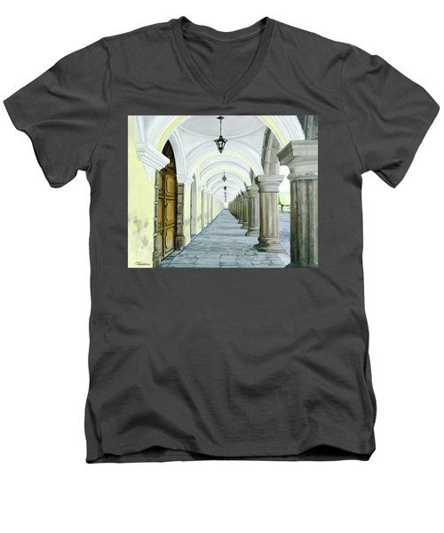 Hotel Casa Mia Men's V-Neck T-Shirt
