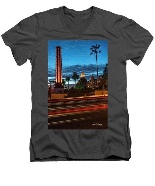 It's Still Standing Men's V-Neck T-Shirt