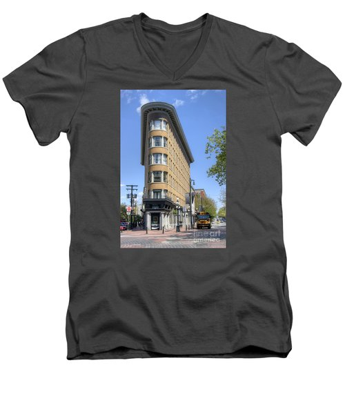 Hotel Europe In Vancouver Men's V-Neck T-Shirt