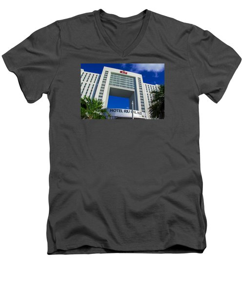 Hotel Riu Palace In Cancun Men's V-Neck T-Shirt