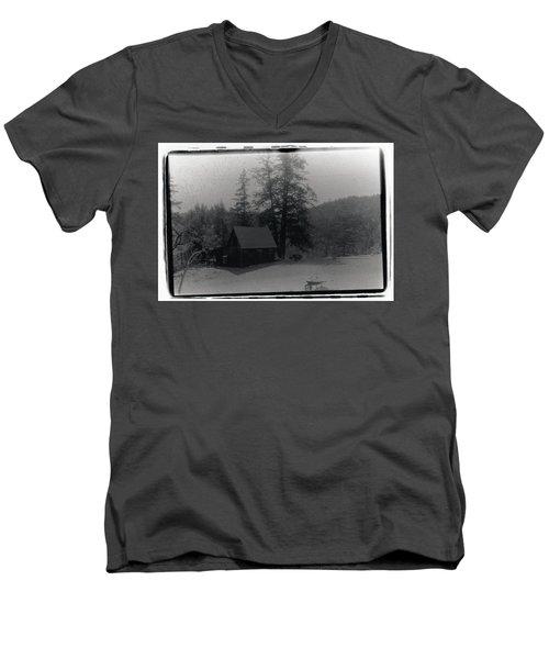 House And Horse Men's V-Neck T-Shirt
