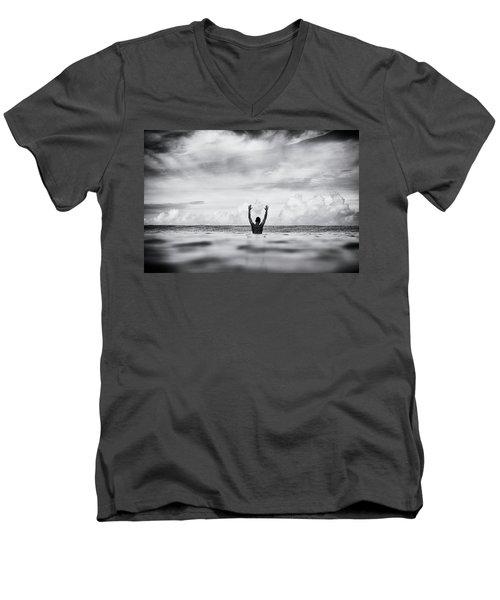 House Arrest Men's V-Neck T-Shirt