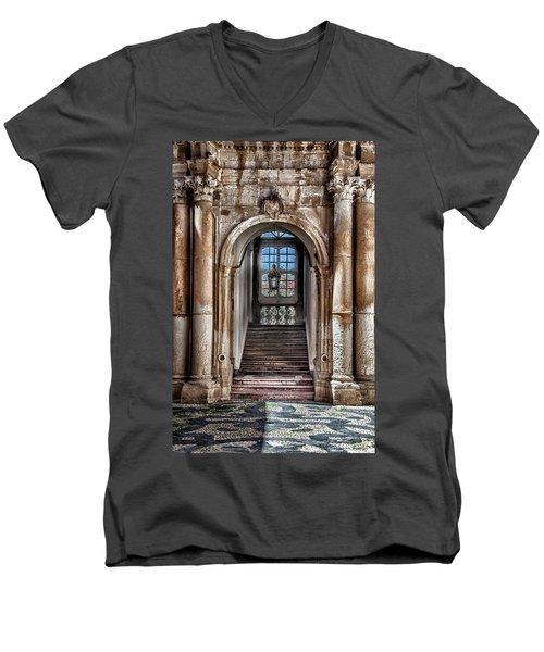 House Entrance Palermo  Men's V-Neck T-Shirt