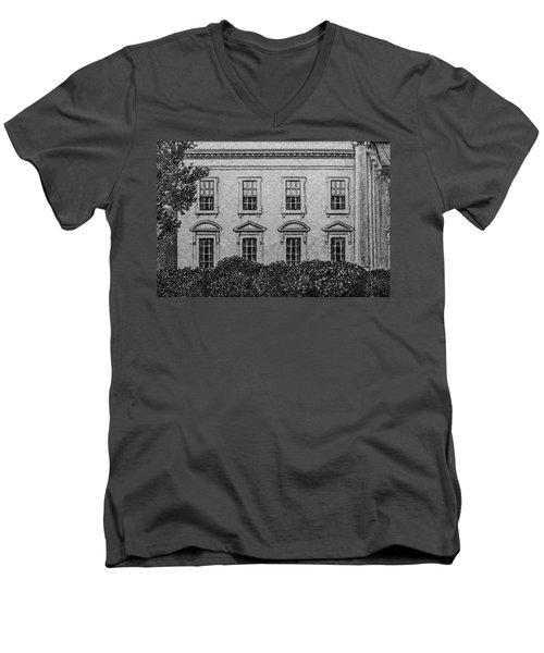House Of Cards Men's V-Neck T-Shirt