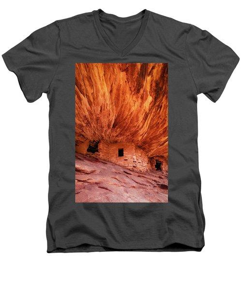 House On Fire Men's V-Neck T-Shirt