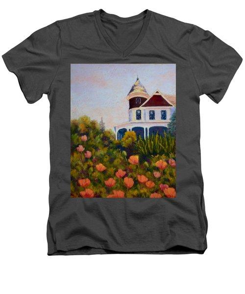 House On The Hill Men's V-Neck T-Shirt