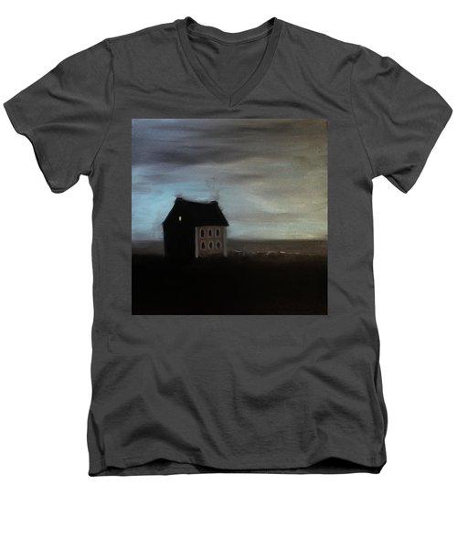 House On The Praerie Men's V-Neck T-Shirt