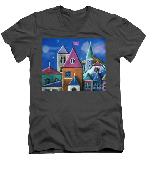 Houses Men's V-Neck T-Shirt
