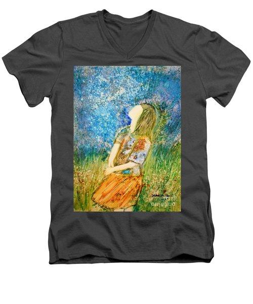 How Great Thou Art Men's V-Neck T-Shirt