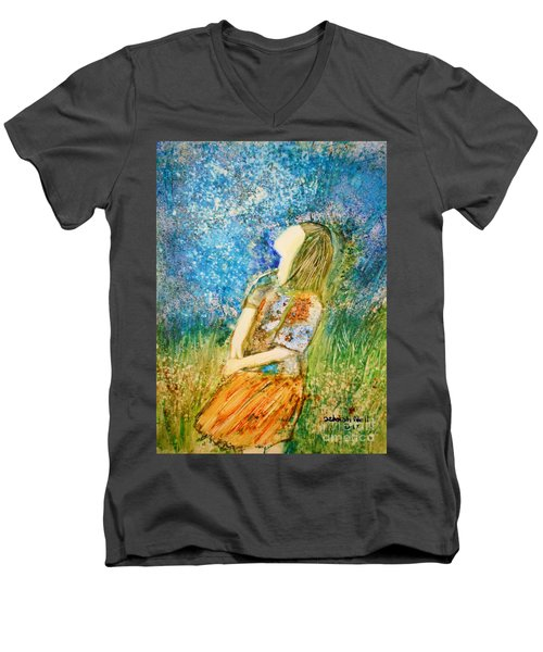 How Great Thou Art Men's V-Neck T-Shirt