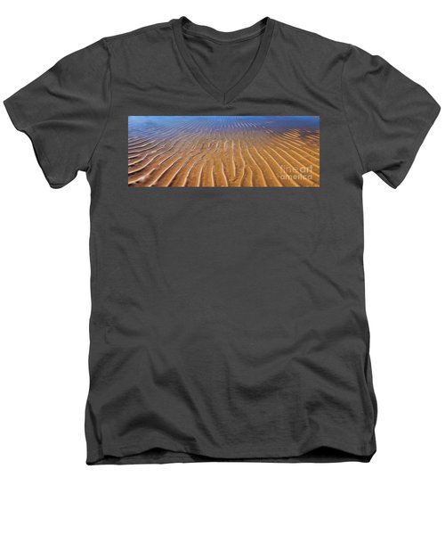 How Many Roads Must A Man Walk Down Men's V-Neck T-Shirt