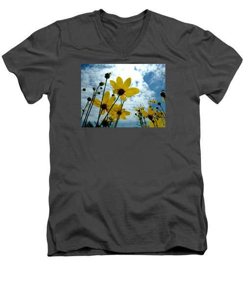 How Summer Feels Men's V-Neck T-Shirt by Tim Good