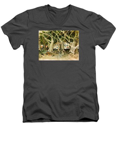 Howley's Banyans Men's V-Neck T-Shirt