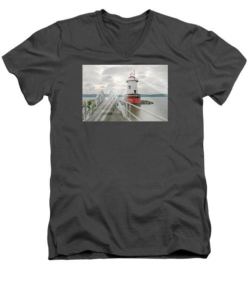 Hudson Light Men's V-Neck T-Shirt