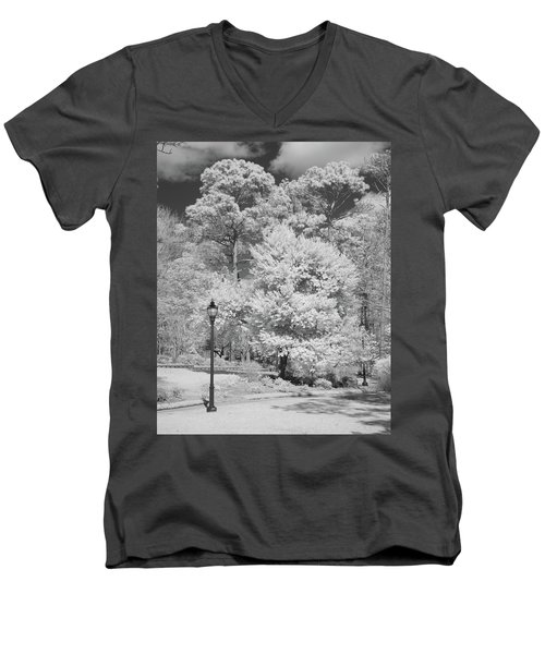 Hugh Macrae Park Men's V-Neck T-Shirt