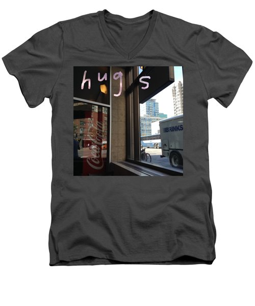 Hugs Men's V-Neck T-Shirt