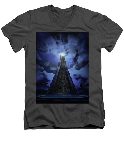 Humanity's Last Stand Men's V-Neck T-Shirt