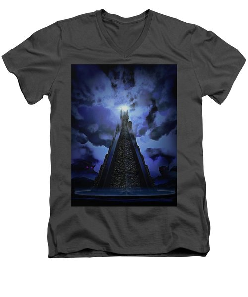 Humanity's Last Stand Men's V-Neck T-Shirt