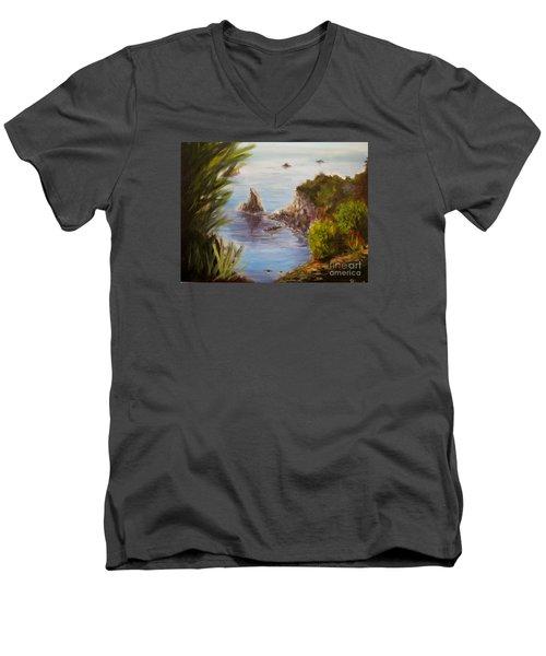 Humboldt Cove Men's V-Neck T-Shirt