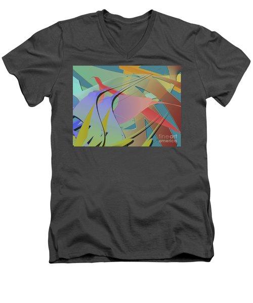 Hummingbird Convention Men's V-Neck T-Shirt