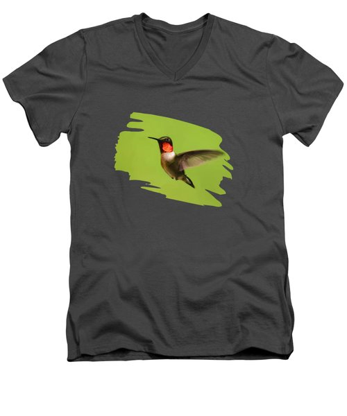 Hummingbird Defender Men's V-Neck T-Shirt