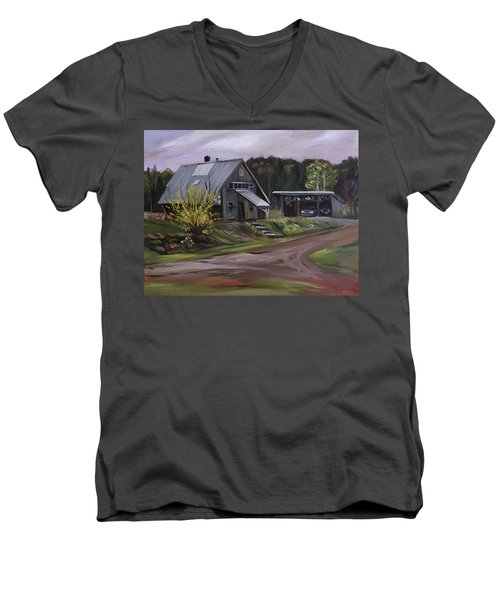 Humpals Barn Men's V-Neck T-Shirt