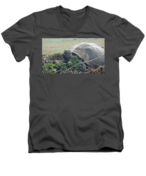 Hunger Giant Men's V-Neck T-Shirt by Will Burlingham