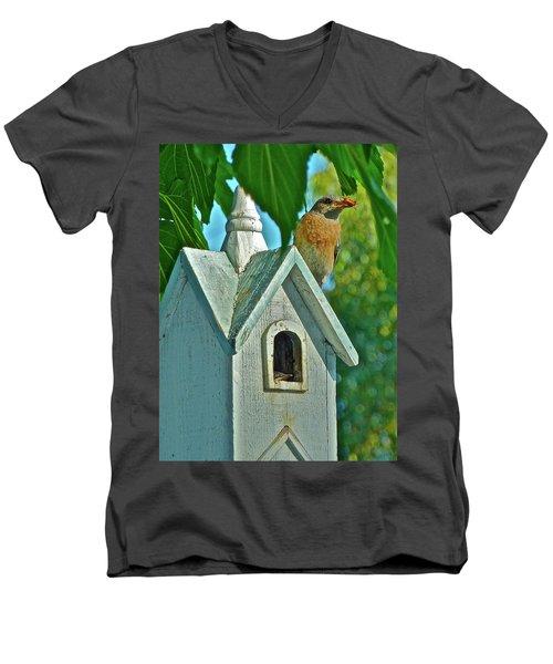 Hungry Baby Men's V-Neck T-Shirt