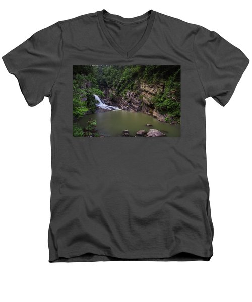 Hurricane Falls Men's V-Neck T-Shirt
