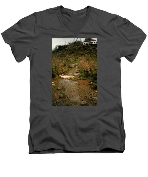 Hurricane12 Men's V-Neck T-Shirt