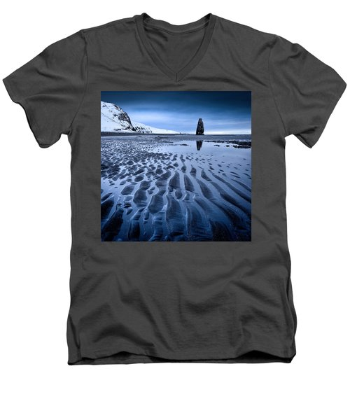 Hvitserkur, Iceland Men's V-Neck T-Shirt