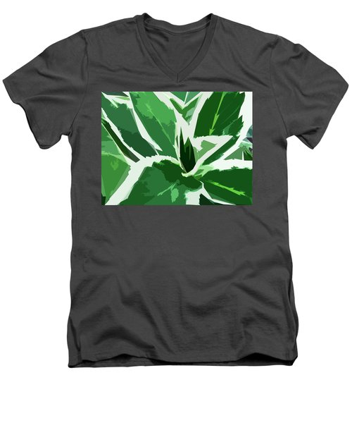Hydrangea Men's V-Neck T-Shirt