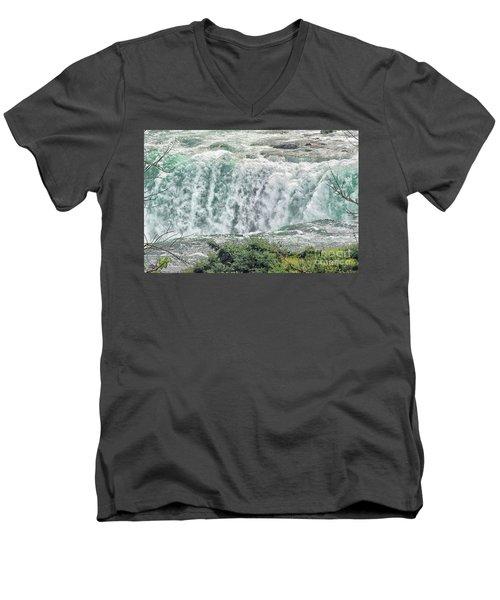 Hydro Power Men's V-Neck T-Shirt