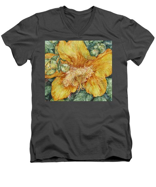Hypericum Plant Men's V-Neck T-Shirt